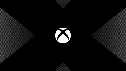 Xbox One X,Logo,Dark,Minimal,HD,4K