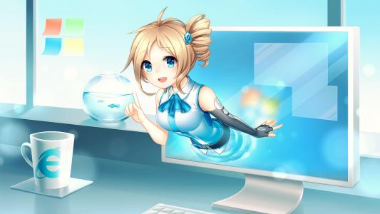 Inori Aizawa,微软,Windows,Internet Explorer,HD