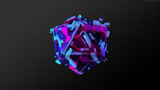 三角形,3D,HD(水平)