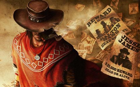 红色死亡救赎,游戏,冒险游戏,动作游戏,角色扮演,红色死,牛仔,枪,雨披,截图,Rockstar(水平)