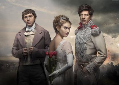 War & Peace, Lily James, Paul Dano, James Norton, Best TV series (horizontal)