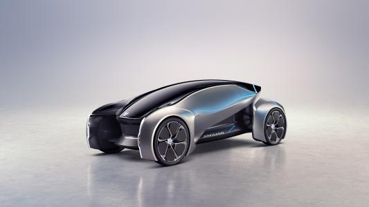 捷豹未来型概念,电动汽车,自主,4K