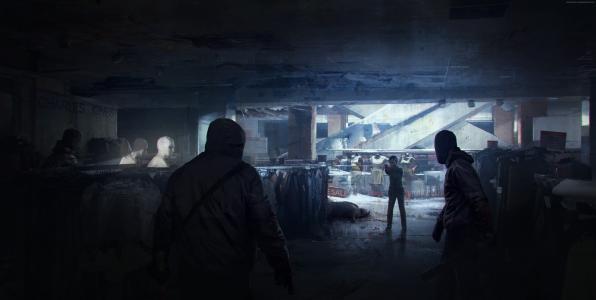 最后一个我们Remastered,游戏,生存恐怖,Ellie,我们最后,电视,萤火虫,僵尸,僵尸真菌(水平)