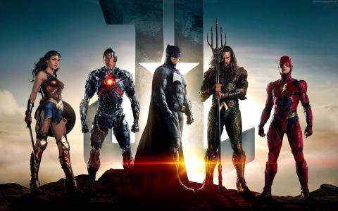 正义联盟,电影,蝙蝠侠,神奇女侠,4k(水平)