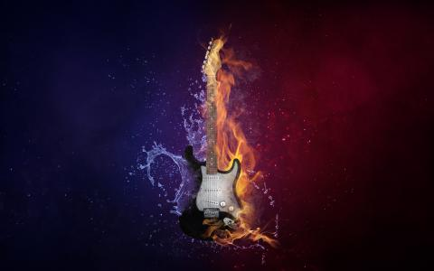 Guitar Fire & Cold 5K