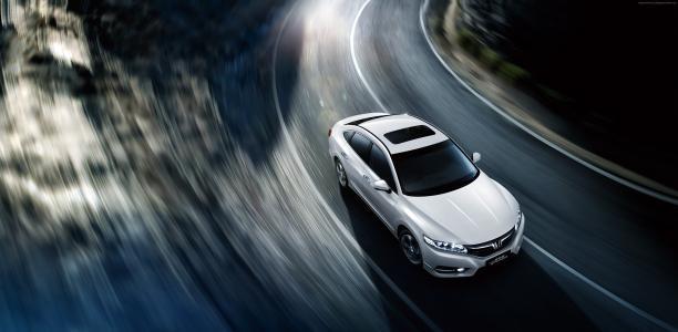 本田Spirior硅,轿车,白色(水平)