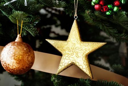 圣诞节,新年,玩具,枞树,5k(水平)