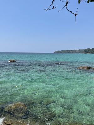 清凉优美的大海