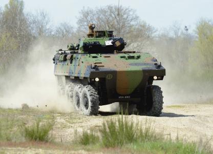 雷诺 -  Nexter VBCI,APC,ACAV,M113A3,法国陆军(水平)