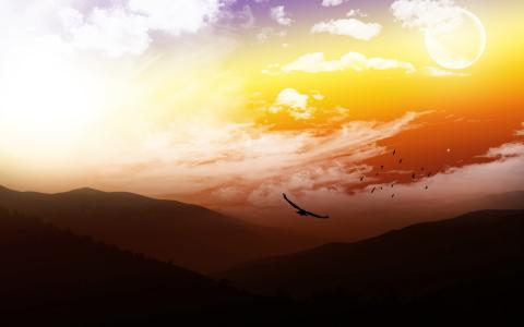 美丽的CG自然