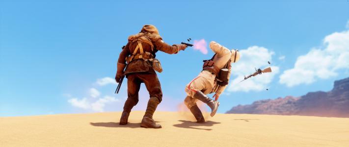 战地1,游戏,沙漠,高清,5K