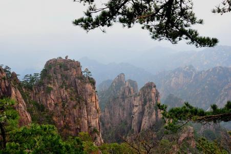 安徽黄山魅力风光