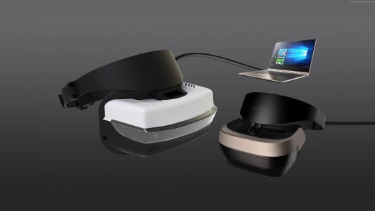 Windows 10 VR,VR,虚拟现实,VR耳机(水平)
