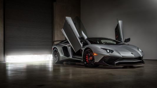 兰博基尼Aventador SuperVeloce Coupe,兰博基尼Aventador LP 750-4 SV Coupe,4K