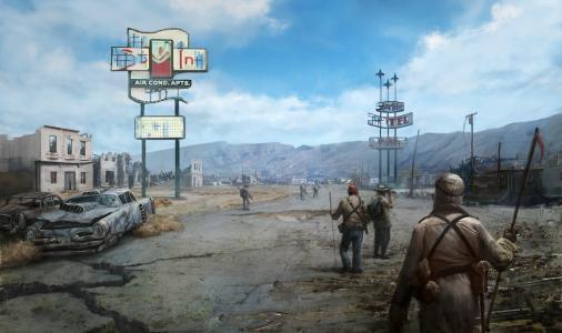 辐射:新维加斯,最好的游戏,游戏,PC,PS3,Xbox 360(水平)