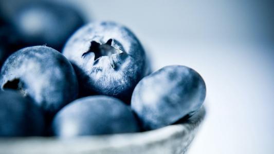 可口甜美的蓝莓