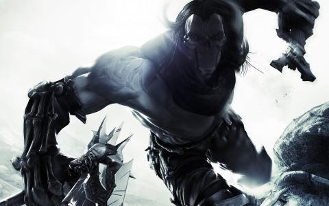 Darksiders 3,通用版,最佳游戏2015,游戏,黑客和斜线,幻想,PS4,Xbox One,PC,审查,游戏,截图(水平)