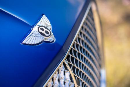 宾利欧陆GT,标志,高清,4K