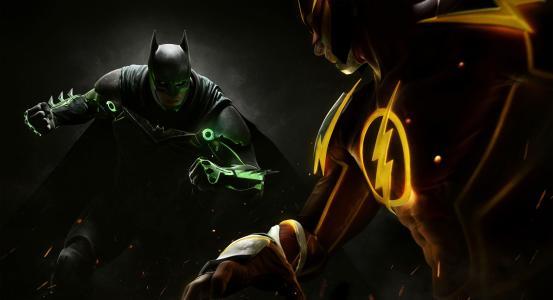不公正2,蝙蝠侠,2017游戏,Flash,PS4,Xbox,4K