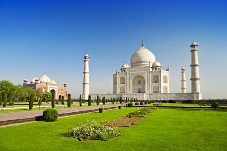 泰姬陵,印度,4K,5K