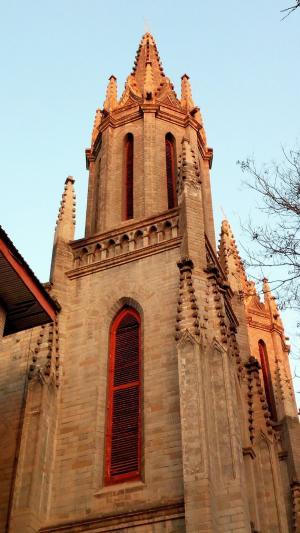 圣米厄尔教堂建筑风光