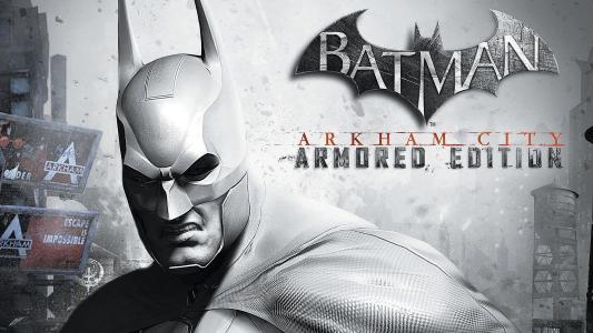 蝙蝠侠阿卡姆城装甲版