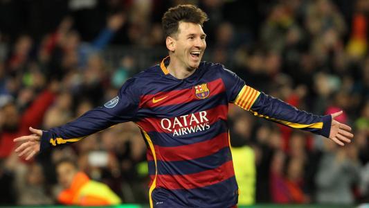 梅西,足球运动员,阿根廷,高清
