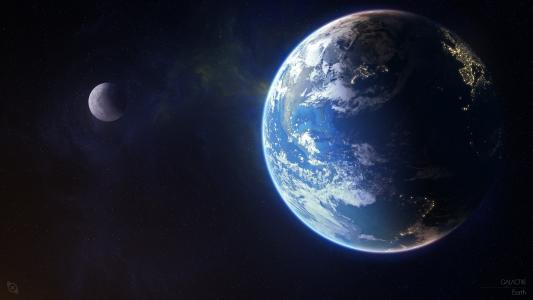 地球,行星,4K,8K