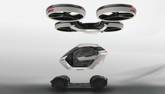 日内瓦车展2017(水平)空中客车Pop.Up,高清壁纸,空气概念车,