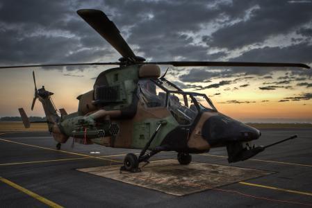 欧洲直升机公司EC665虎式,攻击直升机,德军(水平)
