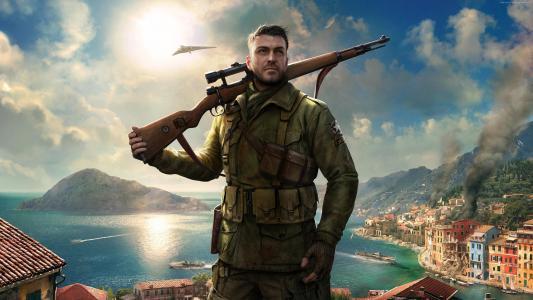 狙击精英4,最好的游戏,PC,PS4的,的PlayStation 4,的Xbox,Xbox 360,Xbox的(水平)