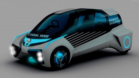 丰田FCV Plus,概念,未来汽车(卧式)