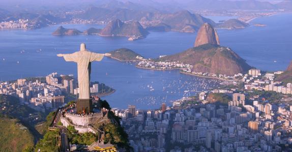 基督救世主,里约热内卢,巴西,旅游,旅行(横向)