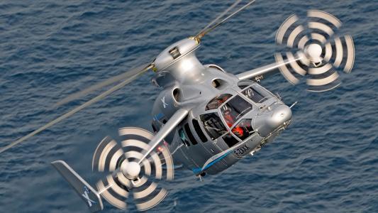 欧洲直升机公司X3,空中客车直升机,概念,4K