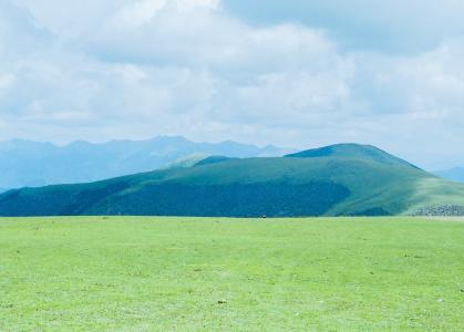 一望无际的优美草原