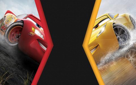 汽车3闪电McQueen与克鲁斯拉米雷斯4K 8K