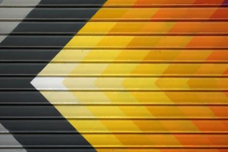 箭头,彩色,黄色,油漆,纹理,高清,5K