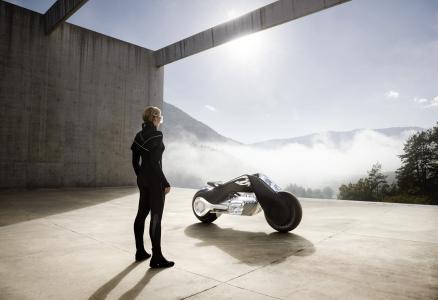 宝马摩托车,愿景下一个100,未来的自行车,概念自行车,高清,4K