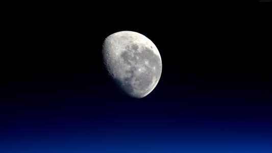 月亮,行星,5k(水平)