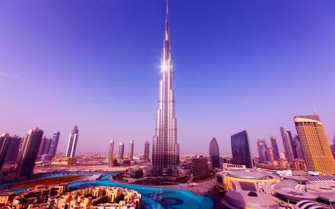 世界最高的塔哈利法塔