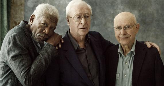 在风格上,摩根·弗里曼,艾伦·阿金,迈克尔·凯恩,最佳电影(水平)