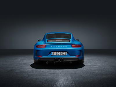 保时捷911 GT3,旅游包,后视图,4K