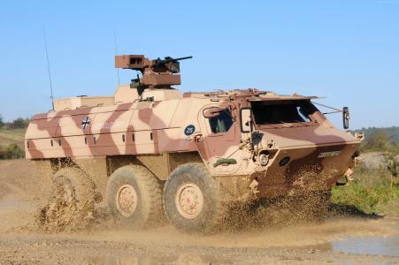 TPz,Fuchs,装甲运兵车,APC,M93,Fox,Bundeswehr(卧式)