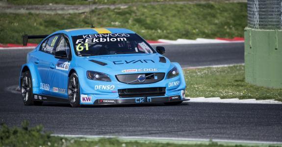 沃尔沃S60,北极星,TC1,WTCC,跑车,蓝色(水平)