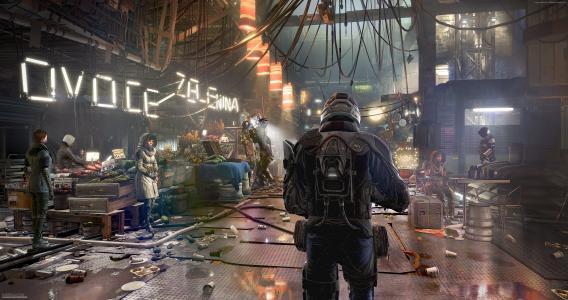(Deus Ex):人类分裂,E3 2016,Best Games 2016,游戏,赛博朋克,科幻,PC,Xbox One,PS4(水平)