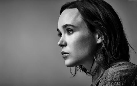 Ellen Page,4k,照片(水平)