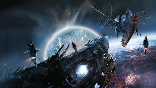 太空战争游戏场景
