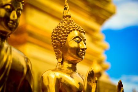 佛像,乔达摩佛像,泰国,高清,4 k