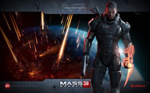 2012年质量效应3游戏