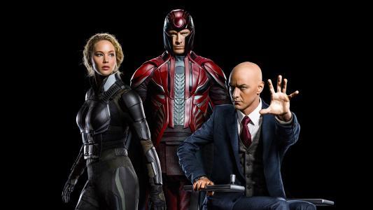X战警,启示录,乌鸦,奥秘,磁电,查理斯Xavier教授,4K